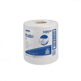 Wypall L10 Wipers Centrefeed Airflex 525 Sheets per Roll 185x380 White Ref 7495 Pack of 6