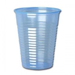 Cheap Stationery Supply of Water Cups Plastic Non Vending for Cold Drinks 7oz 207ml Clear Blue Pack of 1000 Office Statationery