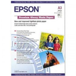 Cheap Stationery Supply of Epson Premium Photo Paper Glossy 255gsm A3 White C13S041315 20 Sheets Office Statationery