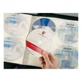 Avery CD/DVD Labels Laser 2 per Sheet Dia.117mm Full Face Opaque White Ref L7676-25 50 Labels