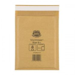 Cheap Stationery Supply of Jiffy Mailmiser (Size 0) Protective Envelopes Bubble-lined 140x195mm Gold (1 x Pack of 100 Envelopes) JMM-GO-0 Office Statationery