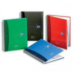 Oxford Office Address Book Wirebound Hardback 144pp 90gsm A5 Assorted Ref 100101258
