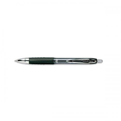 UNI-BALL Signo 207 Gel Refill Medium Black 2 Pens