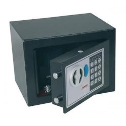 Cheap Stationery Supply of Phoenix Compact Home Office SS0721E Black Security Safe with Electronic Lock SS0721E Office Statationery