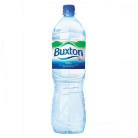 Buxton Natural Mineral Water Still Bottle Plastic 1.5 Litre Ref 742900 Pack of 6