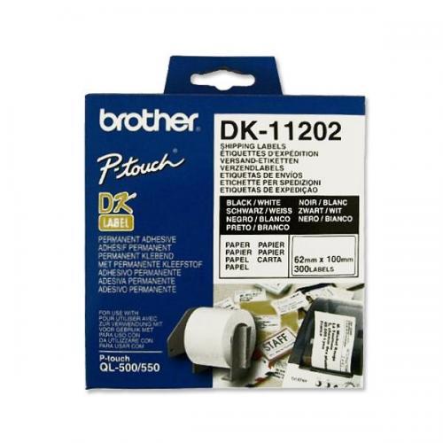 5 X Compatible DK11202 62x100mm Adresse étiquettes Pour Brother QL-800