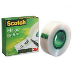 Cheap Stationery Supply of 3M Scotch Magic 810 Tape (19mm x 33m) Invisible Matt - Offer 3 For 2 Jan 2014 81019mmx33-XX Office Statationery