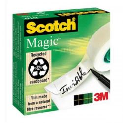 Cheap Stationery Supply of 3M Scotch Magic 810 Tape (19mm x 66m) Invisible Matt - Offer 3 For 2 Jan 2014 8101966-XX Office Statationery