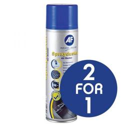 Cheap Stationery Supply of AF Sprayduster (400ml) Non-Flammable (2 for 1) ASDU400D-XX Office Statationery