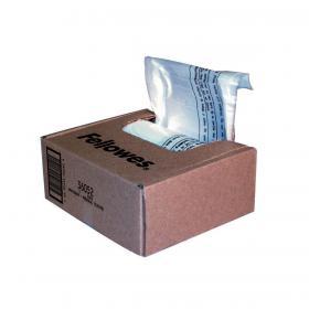 Fellowes Shredder Bags Capacity 23-28 Litre for SB-87Cs Series Ref 36052 Pack of 100