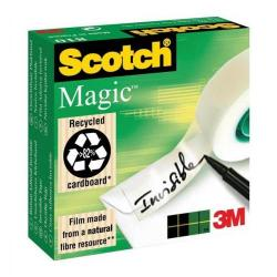 Cheap Stationery Supply of 3M Scotch Magic 810 Tape (19mm x 66m) Invisible Tape Matt - Offer 3 for 2 April 2014 8101966-XXX Office Statationery