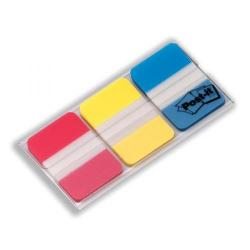 Cheap Stationery Supply of 3M Post-it 686-RYB Index Strong 25mm Red/Yellow/Blue (3 x 22 Tabs) - Offer 3 for 2 April to June 2014 686-RYB-XX Office Statationery