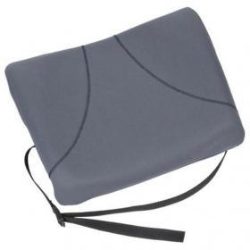 Fellowes Slimline Back Support Soft-touch & Adjustable Strap Graphite Ref 9190901
