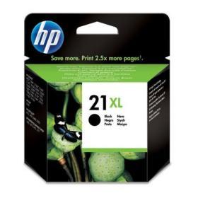 Hewlett Packard HP No.21XL Inkjet Cartridge High Yield Page Life 475pp 12ml Black Ref C9351CE