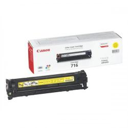 Cheap Stationery Supply of Canon 716Y Laser Toner Cartridge Page Life 1500pp Yellow 1977B002 Office Statationery