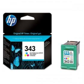 Hewlett Packard HP No.343 Inkjet Cartridge Page Life 260pp 7ml Tri-Colour Ref C8766EE