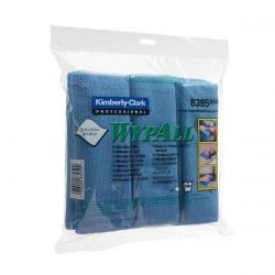 Cheap Stationery Supply of Wypall Microfibre Cleaning Cloths for Dry or Damp Multisurface Use Blue (Pack of 6) 8395 Office Statationery