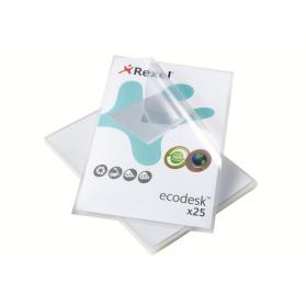 Rexel Eco-Filing Folder Cut Flush Recycled Polypropylene Anti-glare Finish A4 Ref 2102243 Pack of 25
