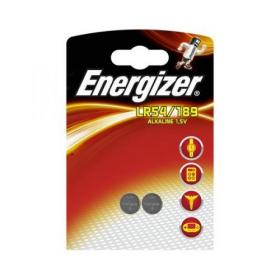 Energizer Alkaline LR54 Button Cell Battery 1.5V Ref LR54 189 PIP2 Pack of 2
