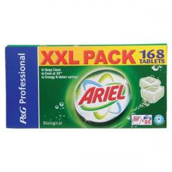 Cheap Stationery Supply of Ariel Biological Washing Tablets for Laundry (2x84 Tablets) 99060 Office Statationery