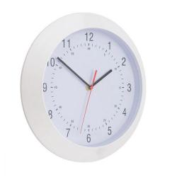 Cheap Stationery Supply of 5 Star Facilities Wall Clock With Coloured Case Diameter 300mm White Office Statationery
