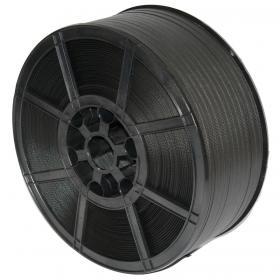 Polypropylene Strapping Medium Duty Breaking Strain 145kg 12mmx2000m Black