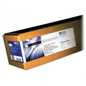 Hewlett Packard HP Bright White Inkjet Paper Roll 90gsm 841mm x 45.7m White Ref Q1444A