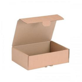Mailing Carton Easy Assemble S 250x175x80mm Brown Pack of 20