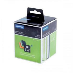 Dymo LabelWriter Labels Lever Arch File Large 60x190mm White Ref 99019 S0722480 Pack of 110