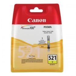 Cheap Stationery Supply of Canon CLI-521Y Inkjet Cartridge Page Life 477pp 9ml Yellow 2936B001AA Office Statationery