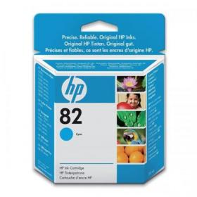 Hewlett Packard HP No.82 Inkjet Cartridge 28ml Cyan Ref CH566A