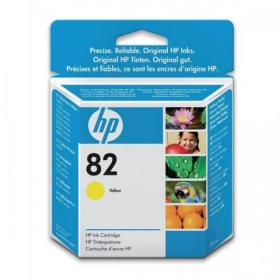 Hewlett Packard HP No.82 Inkjet Cartridge 28ml Yellow Ref CH568A