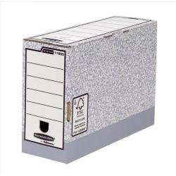 Cheap Stationery Supply of Bankers Box by Fellowes System (A4/Foolscap) Transfer File 120mm Spine (1 x Pack of 10 Files) 1180501-xx1 Office Statationery