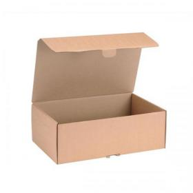 Mailing Carton Easy Assemble L 395x255x140mm Brown Pack of 20