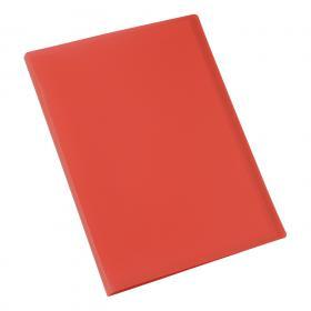 5 Star Office Display Book Soft Cover Lightweight Polypropylene 40 Pockets A4 Red