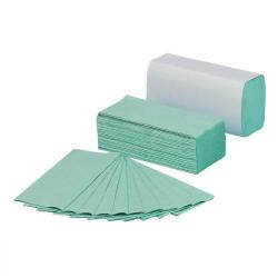 Cheap Stationery Supply of 5 Star Facilities Hand Towel C-Fold 1-ply Recycled Size 220x305mm 192 Towels Per Sleeve Green Pack of 15 Office Statationery
