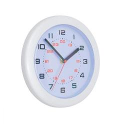 Cheap Stationery Supply of 5 Star Facilities Controller Wall Clock Diameter 250mm White Office Statationery