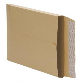 5 Star Office Envelopes C4 Gusset 25mm Peel and Seal 115gsm Manilla Pack of 125