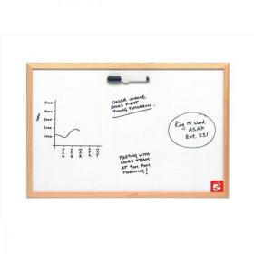 5 Star Value Drywipe Board Lightweight W900xH600mm