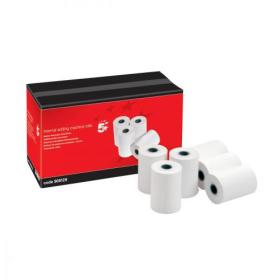5 Star Office Thermal Printer Rolls Single-ply W57xD55xCore12.7mm 40m Pack of 20