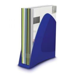 Cheap Stationery Supply of 5 Star Elite Magazine Rack File Low Sill A4 Plus and Portrait Foolscap Blue 908153 Office Statationery