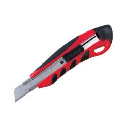 Cheap Stationery Supply of 5 Star Office Cutting Knife Heavy Duty with Locking Device and Snap-off Blades 18mm Office Statationery
