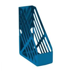 Cheap Stationery Supply of 5 Star Office Magazine Rack File Foolscap Blue Office Statationery