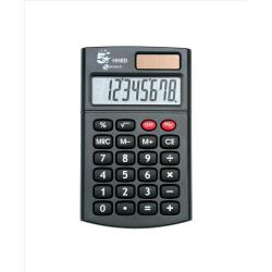 Cheap Stationery Supply of 5 Star Office Handheld Calculator 8 Digit 3 Key Memory Solar and Battery Power 56x8x100mm Black Office Statationery