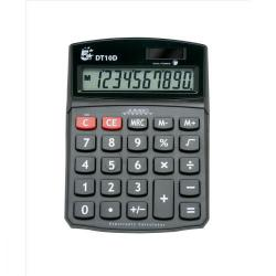 Cheap Stationery Supply of 5 Star Office Desktop Calculator 10 Digit Display 3 Key Memory Battery/Solar Power 94x32x124mm Black Office Statationery