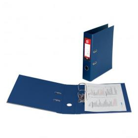 5 Star Office Lever Arch File Polypropylene Capacity 70mm Foolscap Blue Pack of 10