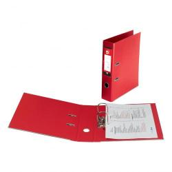 Cheap Stationery Supply of 5 Star Office Lever Arch File Polypropylene Capacity 70mm Foolscap Red Pack of 10 Office Statationery