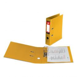 Cheap Stationery Supply of 5 Star Office Lever Arch File Polypropylene Capacity 70mm Foolscap Yellow Pack of 10 Office Statationery