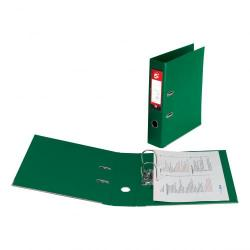 Cheap Stationery Supply of 5 Star Office Lever Arch File Polypropylene Capacity 70mm Foolscap Green Pack of 10 Office Statationery