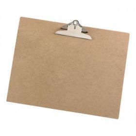 5 Star Office Clipboard Rigid Hardboard A3